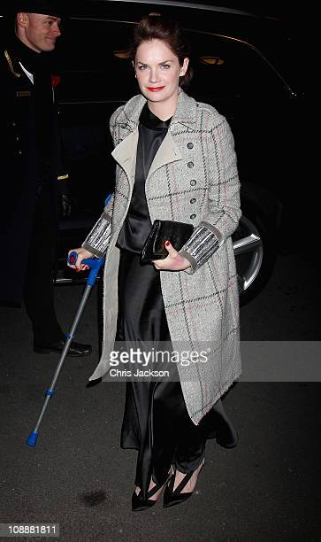 Actress Ruth Wilson arrives at the London Evening Standard British Film Awards 2011 at the Marriot Hotel on February 7 2011 in London England