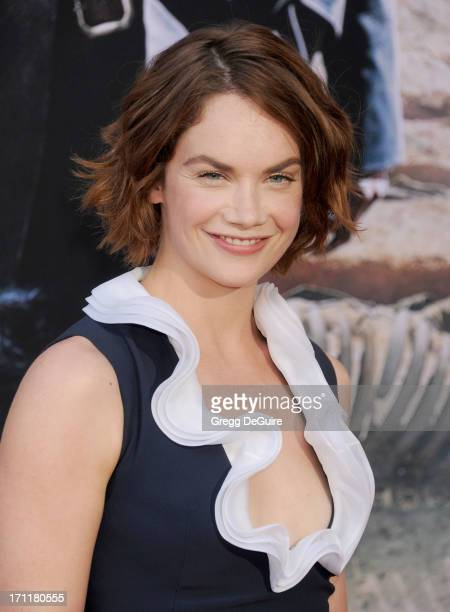 Actress Ruth Wilson arrives at 'The Lone Ranger' World Premiere at Disney's California Adventure on June 22 2013 in Anaheim California