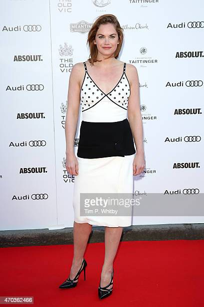 Actress Ruth Wilson arrives at The Old Vic Theatre for a gala celebration in honour of Kevin Spacey as the artistic director's tenure comes to an end...