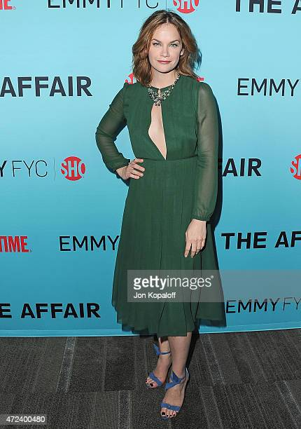 """Actress Ruth Wilson arrives at the screening of Showtime's """"The Affair"""" at Samuel Goldwyn Theater on May 6, 2015 in Beverly Hills, California."""