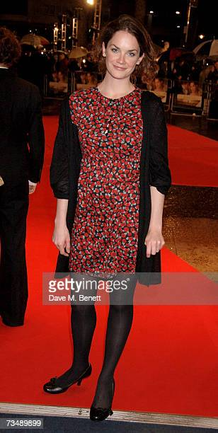 Actress Ruth Wilson arrives at the World premiere of 'Becoming Jane', at the Odeon West End on March 4, 2007 in London, England.