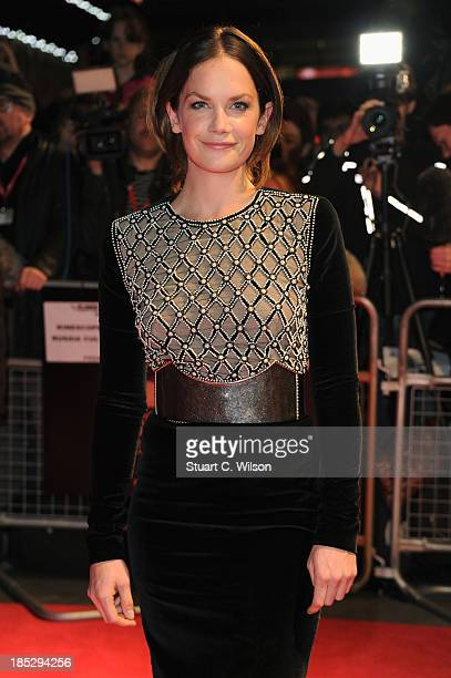 Actress Ruth Wilson attends a screening of Locke during the 57th BFI London Film Festival at Odeon West End on October 18 2013 in London England