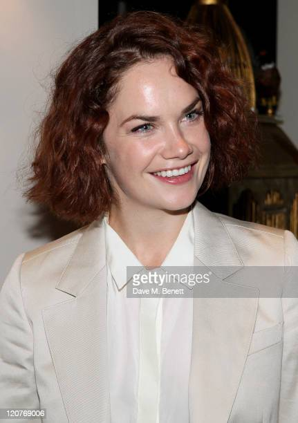 Actress Ruth Wilson attends an after party following Press Night of 'Anna Christie' at the Donmar Warehouse on August 9 2011 in London England