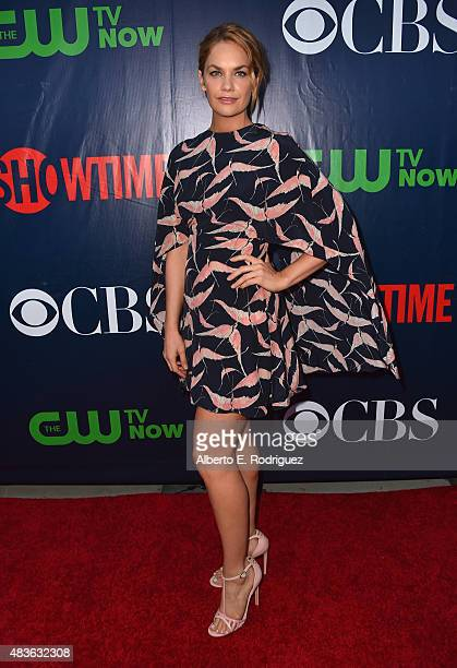 Actress Ruth Wilson attends CBS' 2015 Summer TCA party at the Pacific Design Center on August 10 2015 in West Hollywood California