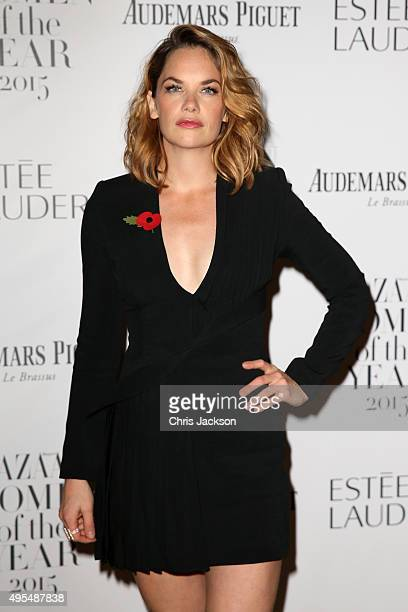 Actress Ruth Wilson attends Harper's Bazaar Women of the Year Awards at Claridge's Hotel on November 3 2015 in London England
