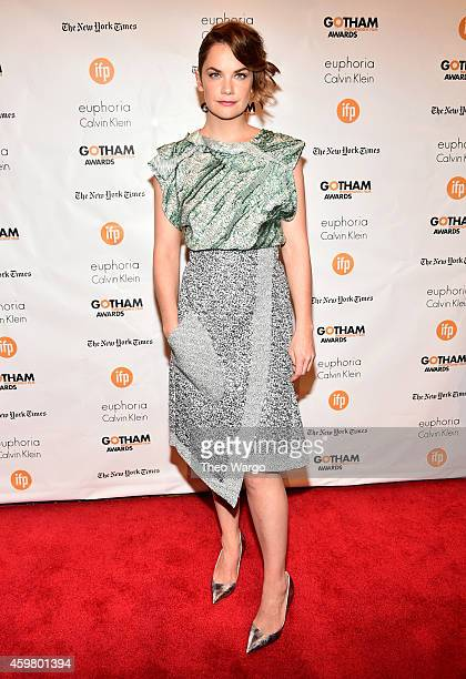 Actress Ruth Wilson attends IFP's 24th Gotham Independent Film Awards at Cipriani Wall Street on December 1 2014 in New York City