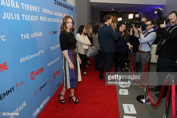 Actress Ruth Wilson attends Showtime THE AFFAIR ATAS FYC Panel on April 18, 2016 in New York City.