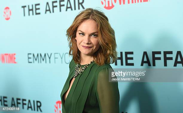 Actress Ruth Wilson attends Showtime's 'The Affair' screening and panel discussion at Samuel Goldwyn Theater on May 6, 2015 in Beverly Hills,...