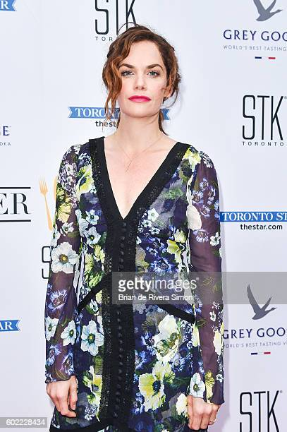 Actress Ruth Wilson attends 'That Pretty Thing That Lives In The House' film premiere preparty at Supper Suite by STK on September 10 2016 in Toronto...