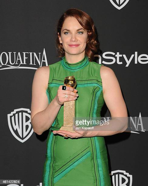 Actress Ruth Wilson attends the 16th Annual Warner Bros and InStyle PostGolden Globe Party at The Beverly Hilton Hotel on January 11 2015 in Beverly...