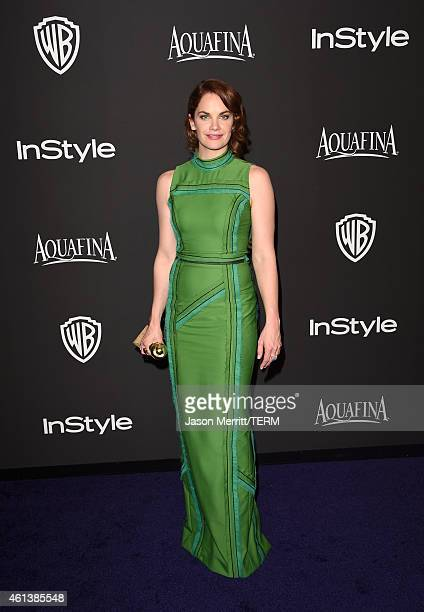 Actress Ruth Wilson attends the 2015 InStyle And Warner Bros 72nd Annual Golden Globe Awards PostParty at The Beverly Hilton Hotel on January 11 2015...