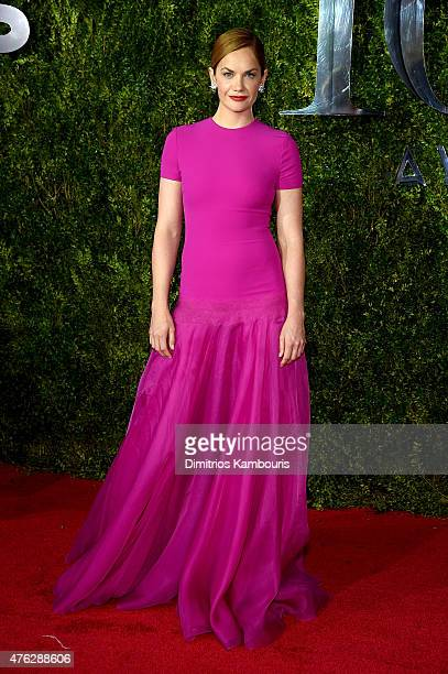 Actress Ruth Wilson attends the 2015 Tony Awards at Radio City Music Hall on June 7 2015 in New York City