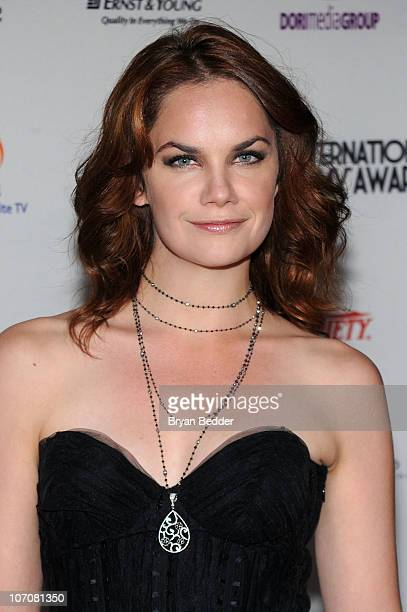 Actress Ruth Wilson attends the 38th International Emmy Awards at the New York Hilton and Towers on November 22 2010 in New York City