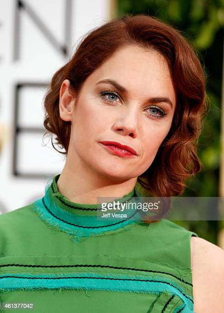 Actress Ruth Wilson attends the 72nd Annual Golden Globe Awards at The Beverly Hilton Hotel on January 11 2015 in Beverly Hills California