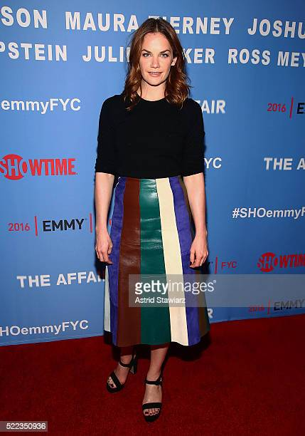 Actress Ruth Wilson attends 'The Affair' New York screening at NYIT Auditorium on Broadway on April 18 2016 in New York City