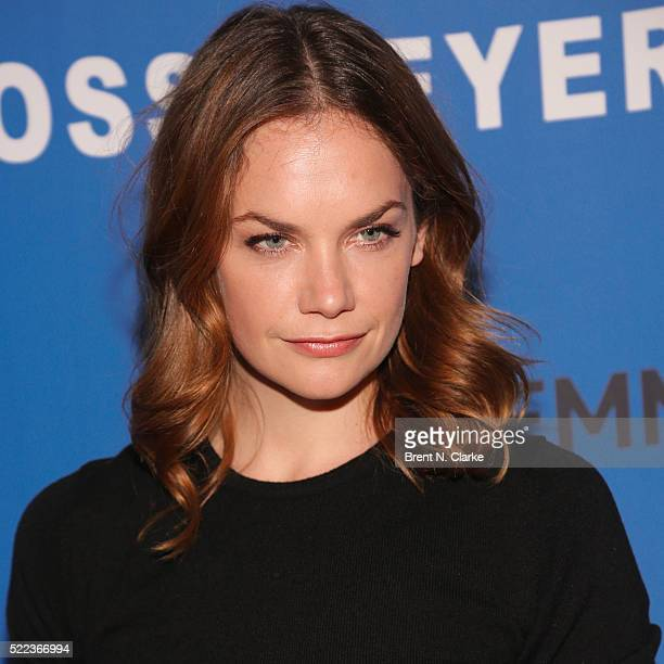 Actress Ruth Wilson attends 'The Affair' New York screening held at the NYIT Auditorium on Broadway on April 18 2016 in New York City