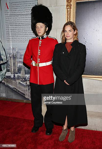 Actress Ruth Wilson attends the Broadway Opening Night of King Charles III at the Music Box Theatre on November 1 2015 in New York City