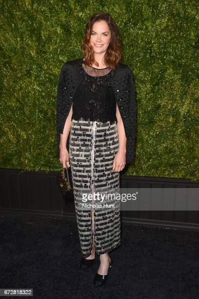 Actress Ruth Wilson attends the CHANEL Tribeca Film Festival Artists Dinner at Balthazar on April 24 2017 in New York City