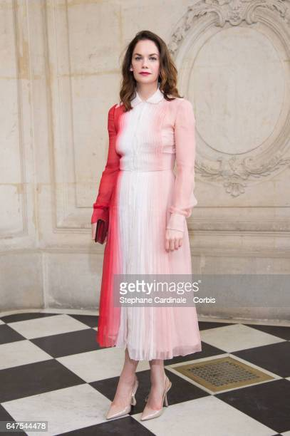 Actress Ruth Wilson attends the Christian Dior show as part of the Paris Fashion Week Womenswear Fall/Winter 2017/2018 on March 3 2017 in Paris France