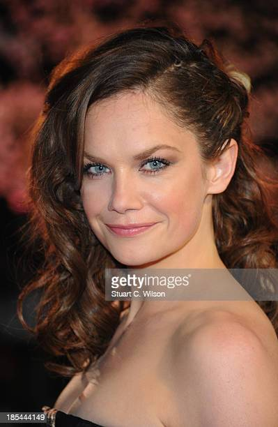 Actress Ruth Wilson attends the Closing Night Gala European Premiere of 'Saving Mr Banks' during the 57th BFI London Film Festival at Odeon Leicester...