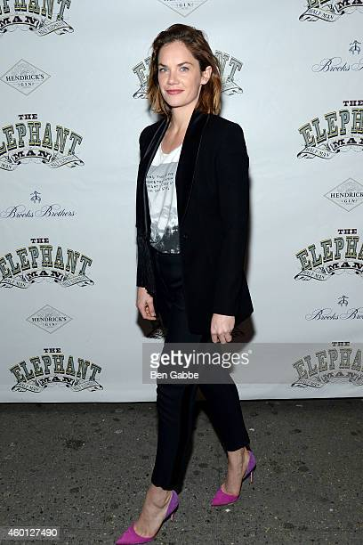 Actress Ruth Wilson attends The Elephant Man Broadway Opening Night at the Booth Theater on December 7 2014 in New York City