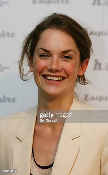 Actress Ruth Wilson attends the Esquire Magazine Cover Versions - Private View at The Hospital Club on May 1 2008 in London