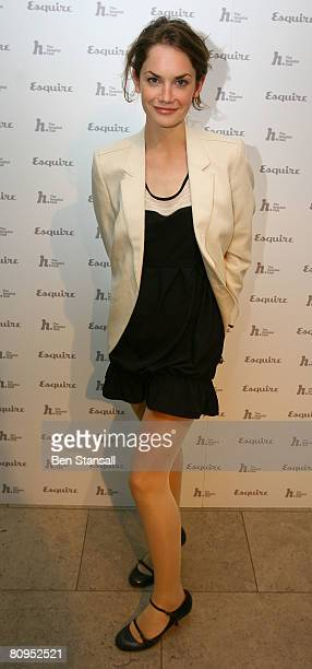 Actress Ruth Wilson attends the Esquire Magazine Cover Versions Private View at The Hospital Club on May 1 2008 in London
