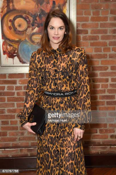 Actress Ruth Wilson attends the jury welcome lunch at Tribeca Grill Loft on April 20 2017 in New York City