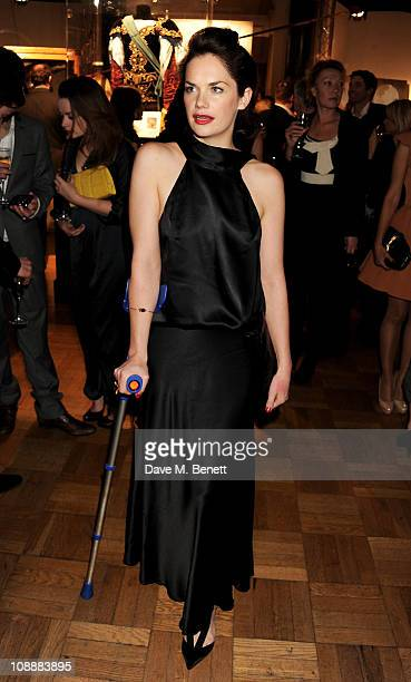 Actress Ruth Wilson attends the London Evening Standard British Film Awards 2011 at the London Film Museum on February 7 2011 in London England