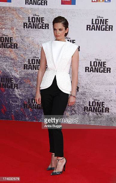 Actress Ruth Wilson attends the 'Lone Ranger' Germany premiere at Sony Centre on July 19 2013 in Berlin Germany