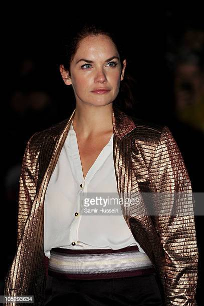 Actress Ruth Wilson attends the Never Let Me Go premiere during the opening night of the 54th BFI London Film Festival at Odeon Leicester Square on...