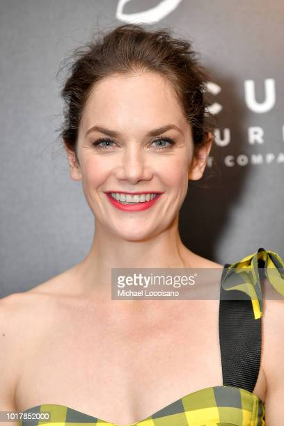 Actress Ruth Wilson attends the New York premiere of The Little Stranger at Metrograph on August 16 2018 in New York City