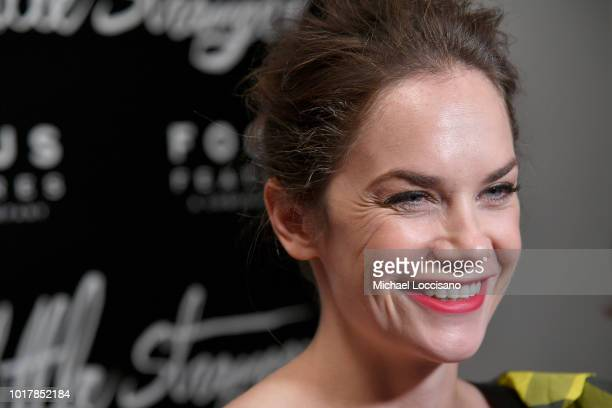 """Actress Ruth Wilson attends the New York premiere of """"The Little Stranger"""" at Metrograph on August 16, 2018 in New York City."""