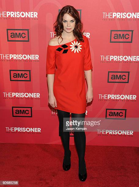 Actress Ruth Wilson attends 'The Prisoner' New York screening at the IFC Center on November 3 2009 in New York City