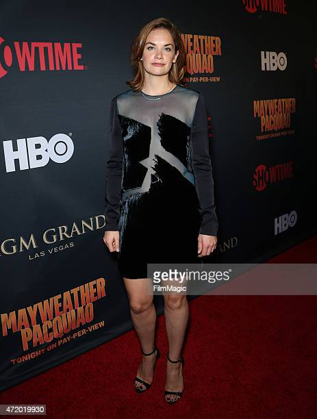Actress Ruth Wilson attends the SHOWTIME And HBO VIP PreFight Party for 'Mayweather VS Pacquiao'at MGM Grand Hotel Casino at on May 2 2015 in Las...