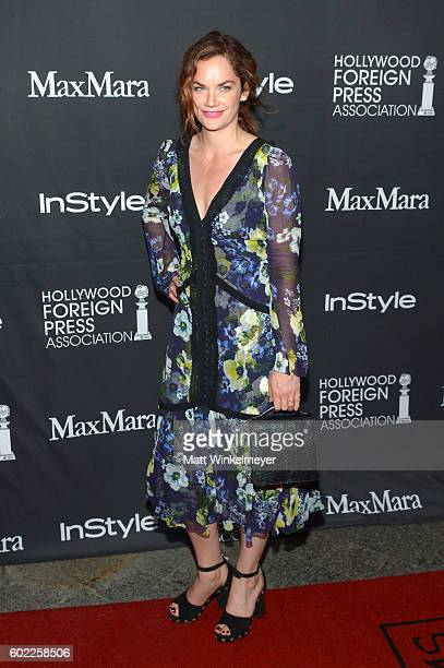Actress Ruth Wilson attends the TIFF/InStyle/HFPA Party during the 2016 Toronto International Film Festival at Windsor Arms Hotel on September 10...