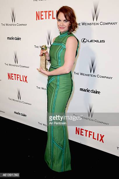 Actress Ruth Wilson attends The Weinstein Company Netflix's 2015 Golden Globes After Party presented by FIJI Water Lexus Laura Mercier and Marie...
