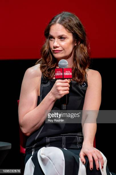 """Actress Ruth Wilson discusses """"The Affair"""" during the SAG-AFTRA Foundation Conversations at The Robin Williams Center on September 17, 2018 in New..."""