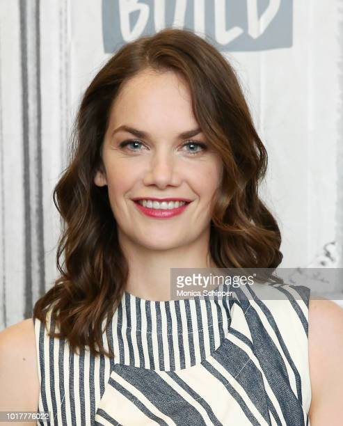 """Actress Ruth Wilson visits Build Studio to discuss the film """"The Little Stranger"""" on August 16, 2018 in New York City."""