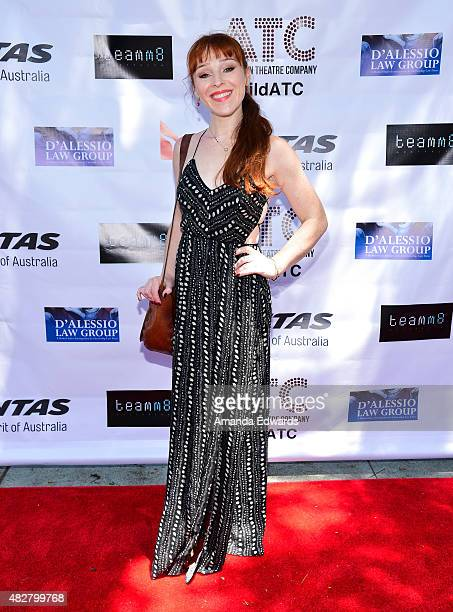 Actress Ruthie Connell arrives at the Australian Theatre Company fundraiser hosted by the Australian ConsulGeneral on August 2 2015 in Los Angeles...