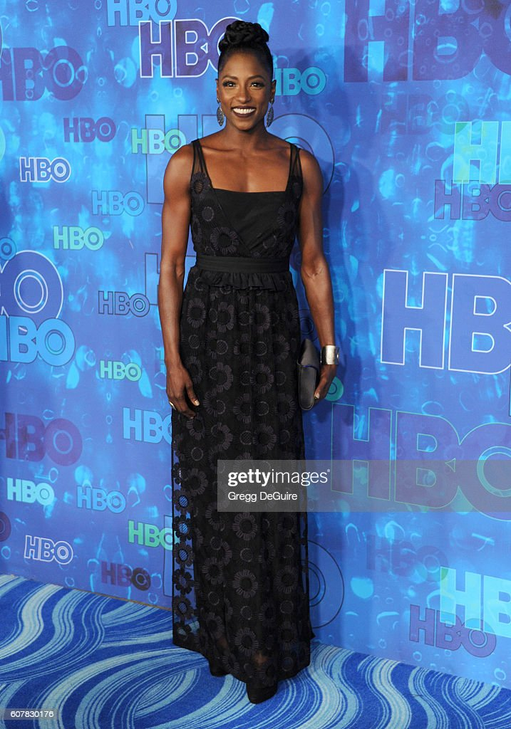 Actress Rutina Wesley arrives at HBO's Post Emmy Awards Reception at The Plaza at the Pacific Design Center on September 18, 2016 in Los Angeles, California.