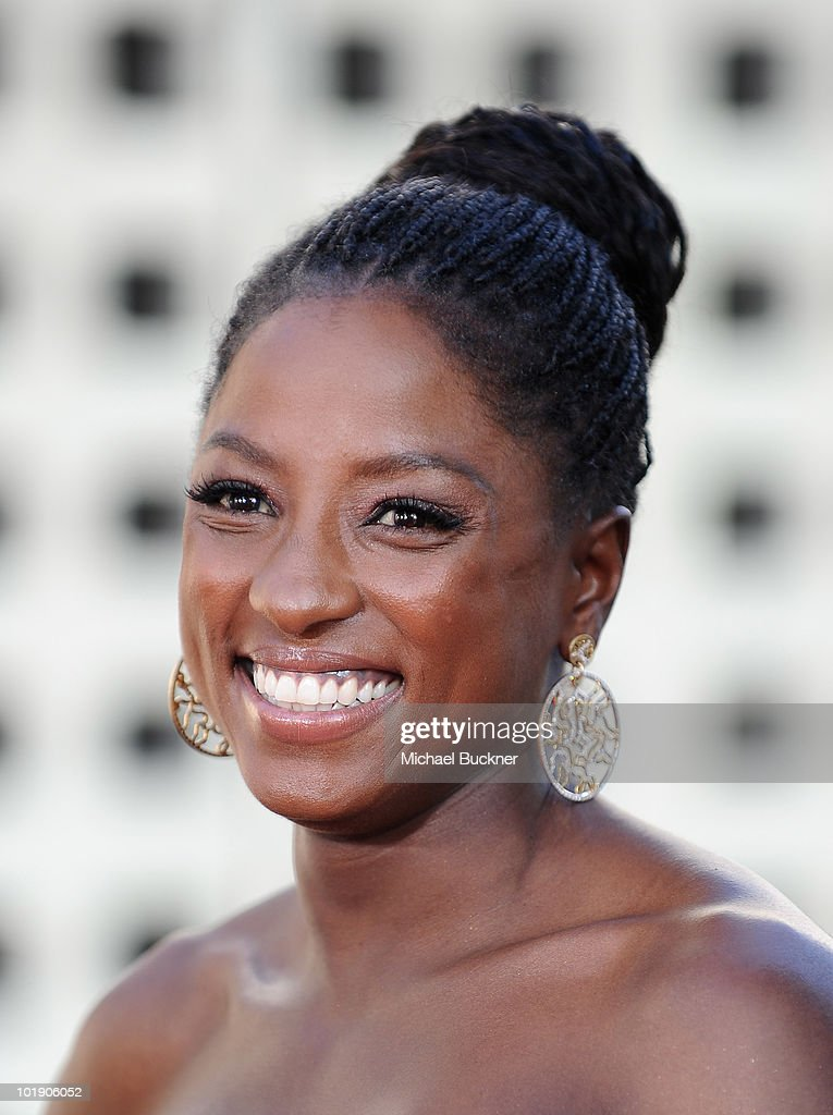 Actress Rutina Wesley arrives at the premiere of HBO's 'True Blood' Season 3 at The Cinerama Dome on June 8, 2010 in Hollywood, California.