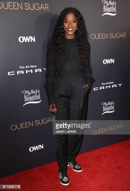 Actress Rutina Wesley attends a taping of 'Queen Sugar AfterShow' at OWN on November 7 2017 in West Hollywood California