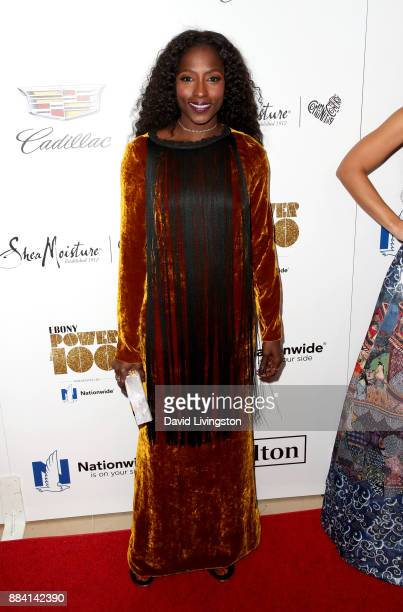 Actress Rutina Wesley attends Ebony Magazine's Ebony's Power 100 Gala at The Beverly Hilton Hotel on December 1 2017 in Beverly Hills California
