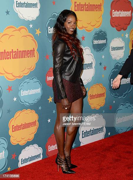 Actress Rutina Wesley attends Entertainment Weekly's Annual ComicCon Celebration at Float at Hard Rock Hotel San Diego on July 20 2013 in San Diego...