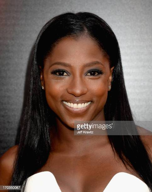 Actress Rutina Wesley attends HBO's 'True Blood' season 6 premiere at ArcLight Cinemas Cinerama Dome on June 11 2013 in Hollywood California