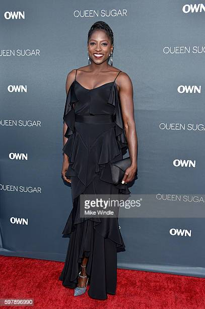 "Actress Rutina Wesley attends OWN Oprah Winfrey Network's ""Queen Sugar"" premiere at the Warner Bros Studio Lot Steven J Ross Theater on August 29..."