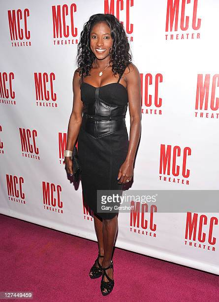 Actress Rutina Wesley attends the after party for the opening night of 'The Submission' at the 49 Grove on September 27 2011 in New York City
