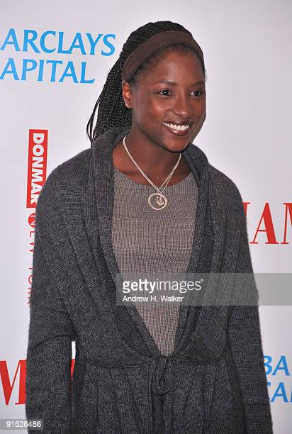 Actress Rutina Wesley attends the Broadway opening night of Hamlet at the Broadhurst Theatre on October 6 2009 in New York City