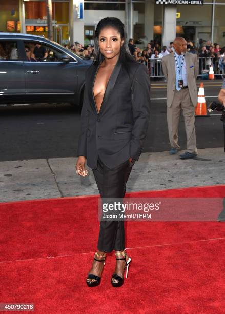 Actress Rutina Wesley attends the premiere of HBO's 'True Blood' season 7 and final season at TCL Chinese Theatre on June 17 2014 in Hollywood...